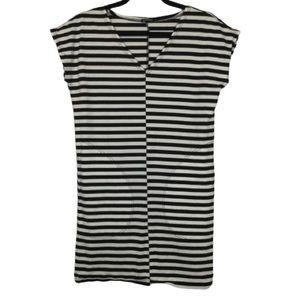 Marimekko Matikka Striped Short Sleeve Dress